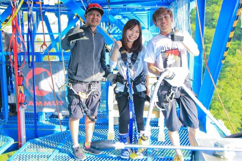 Let´s Enjoy Bungy!